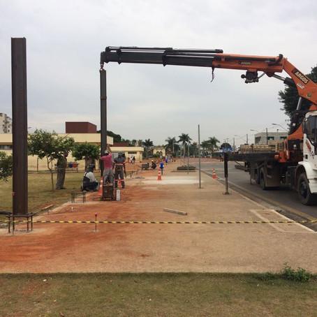 Obras de Cobertura do Terminal Urbano ganham força