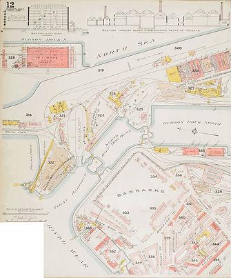 Barracks Map, 1894