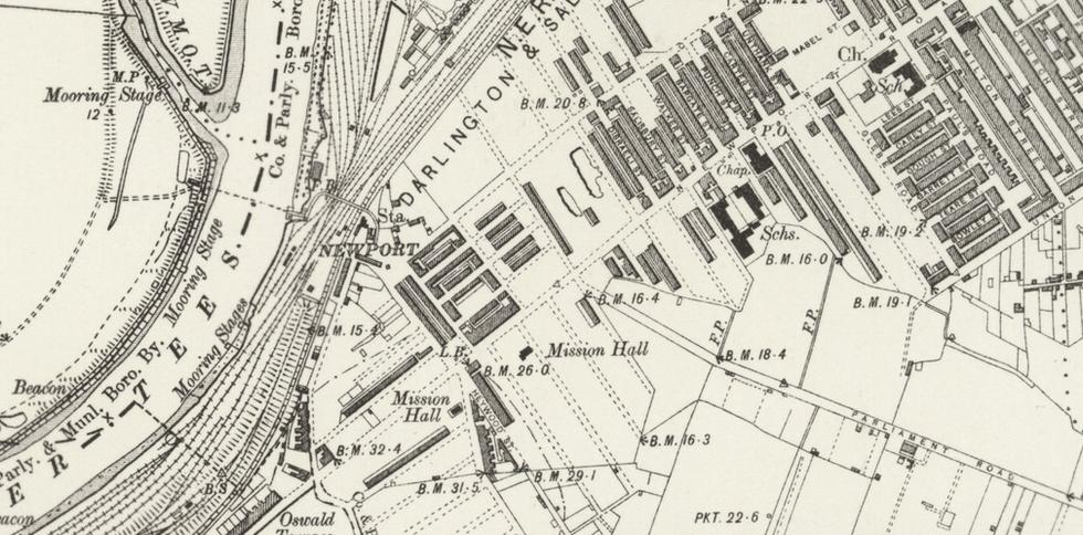 Ordnance Survey, 1899