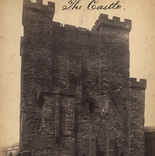 Castle Keep by F. Frith, 1881