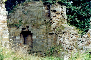 North East Tower Remains