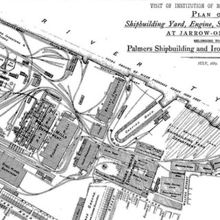 Plan of Palmers, 1887