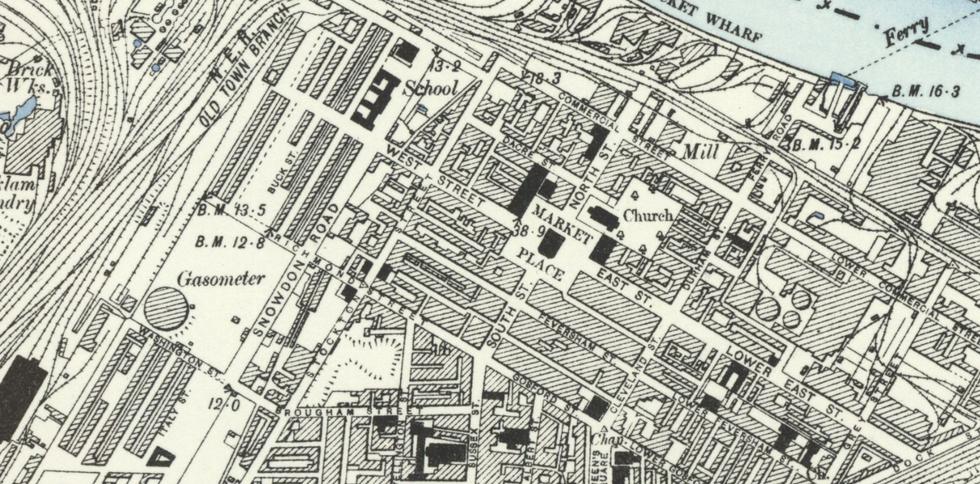 Ordnance Survey, 1895