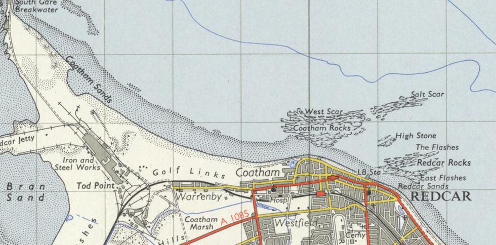 Ordnance Survey, 1955