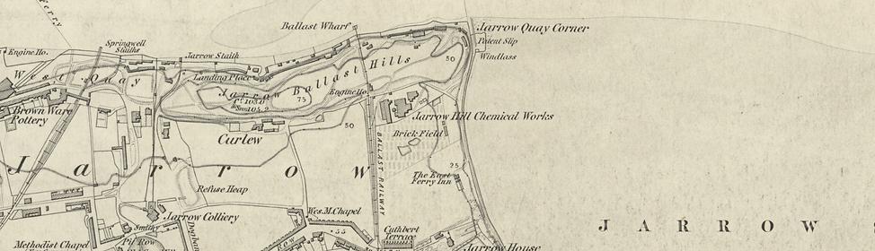 Jarrow Hill Chemical Works, 1862
