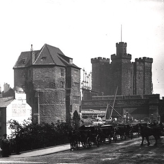 Black Gate and Castle Keep, 1901