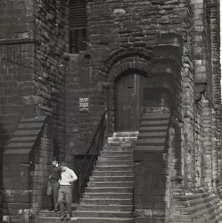 Castle Keep Entrance, 1962