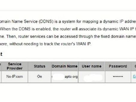 Huawei B618S 22D LTE Modem DDNS Configuration