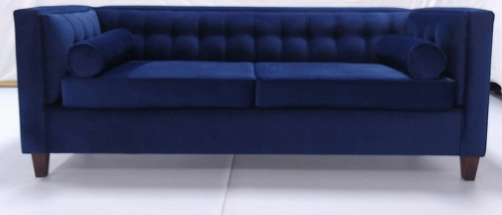 RALPH 3S COUCH (BLUE)