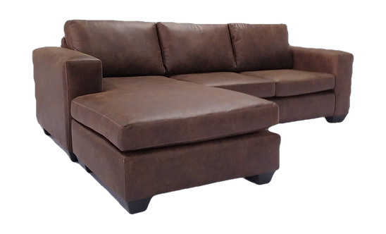Universal L-shaped Couch Brown