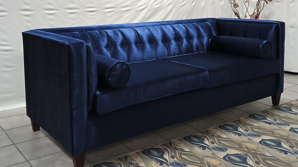 Ralph 3S Couch (Royal Blue)