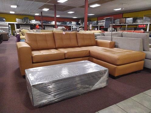 Novak L-shaped Couch (PU)