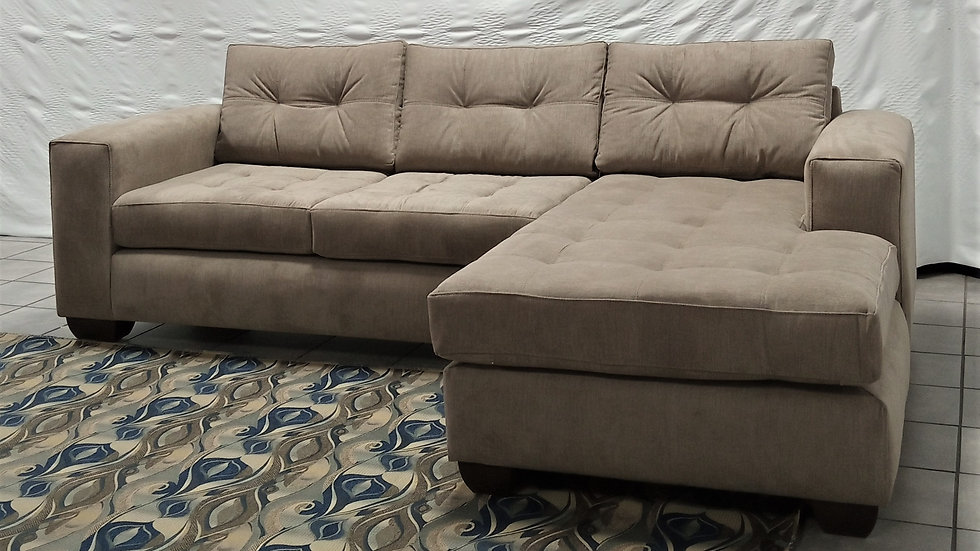 Nova L-shaped Couch (Beige)