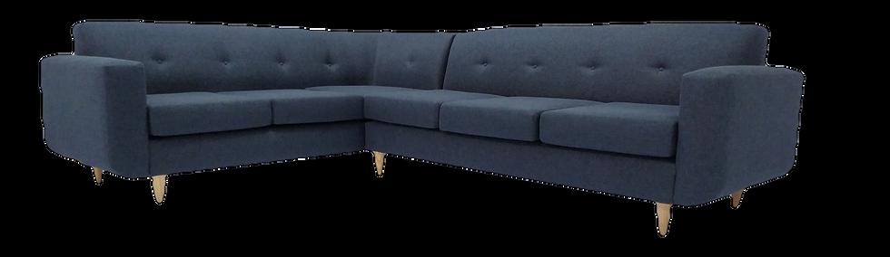 Oslo Corner Couch (Blue)