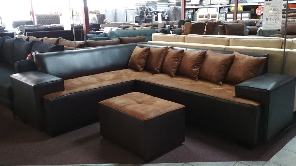 Bold Corner Couch