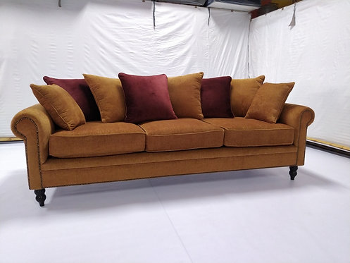 VIRGINIA 3S COUCH (GINGER)