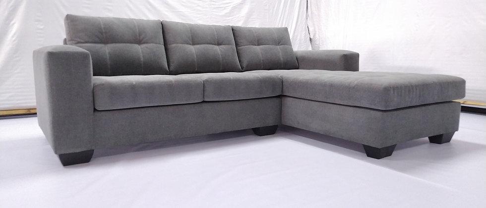 Nova L-shaped Couch (Grey)