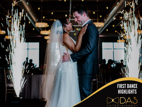 First Dance Lighting & Highlights