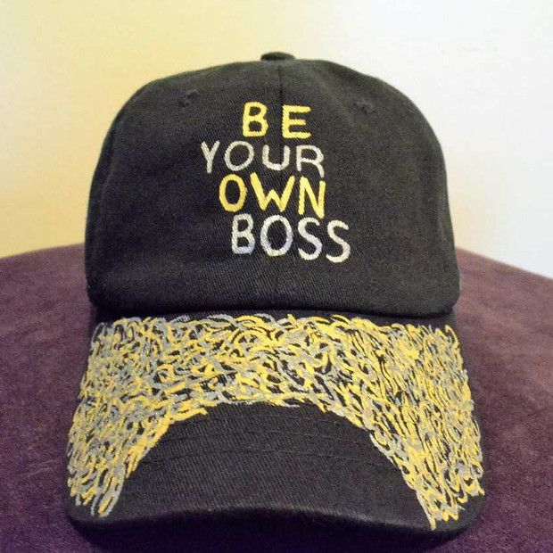 Be your own boss Dad Hat