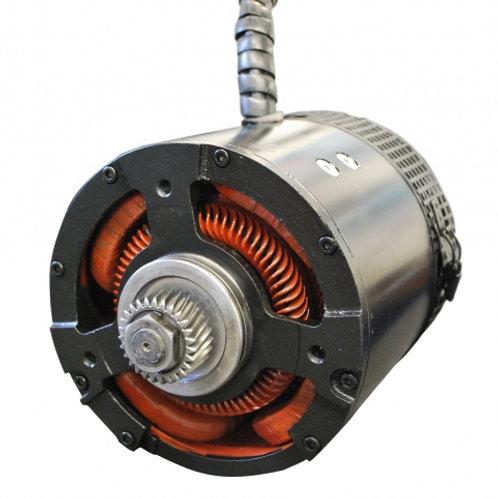 BKB Drive Motor (With Brake End Shaft)