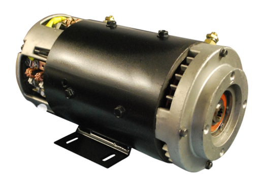 48v 8 Brush Advanced Steer Motor
