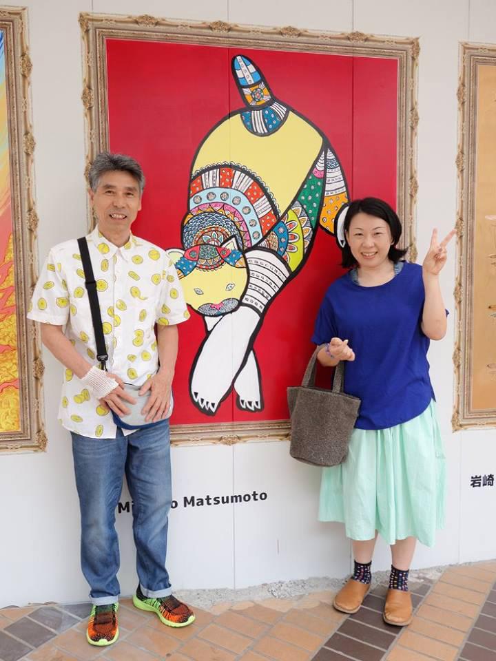 (右)松本倫子