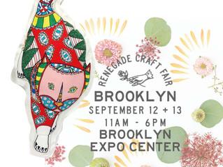 New York Brooklyn「RENEGADE CARFT FAIR 」に出展します!