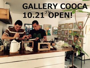 GALLERY COOCA CAFE プレオープン