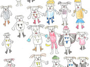 ≪二梃木淳一個展『僕が描いたらこうなった』≫2021.6.1(火)-6.25(金)
