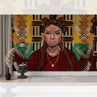 Custom Portrait Mural