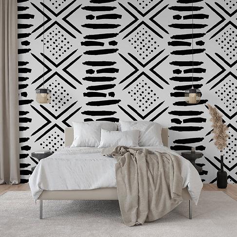 Maison Jijii Tribal Wallpaper