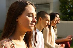 sahaj samadhi meditation research