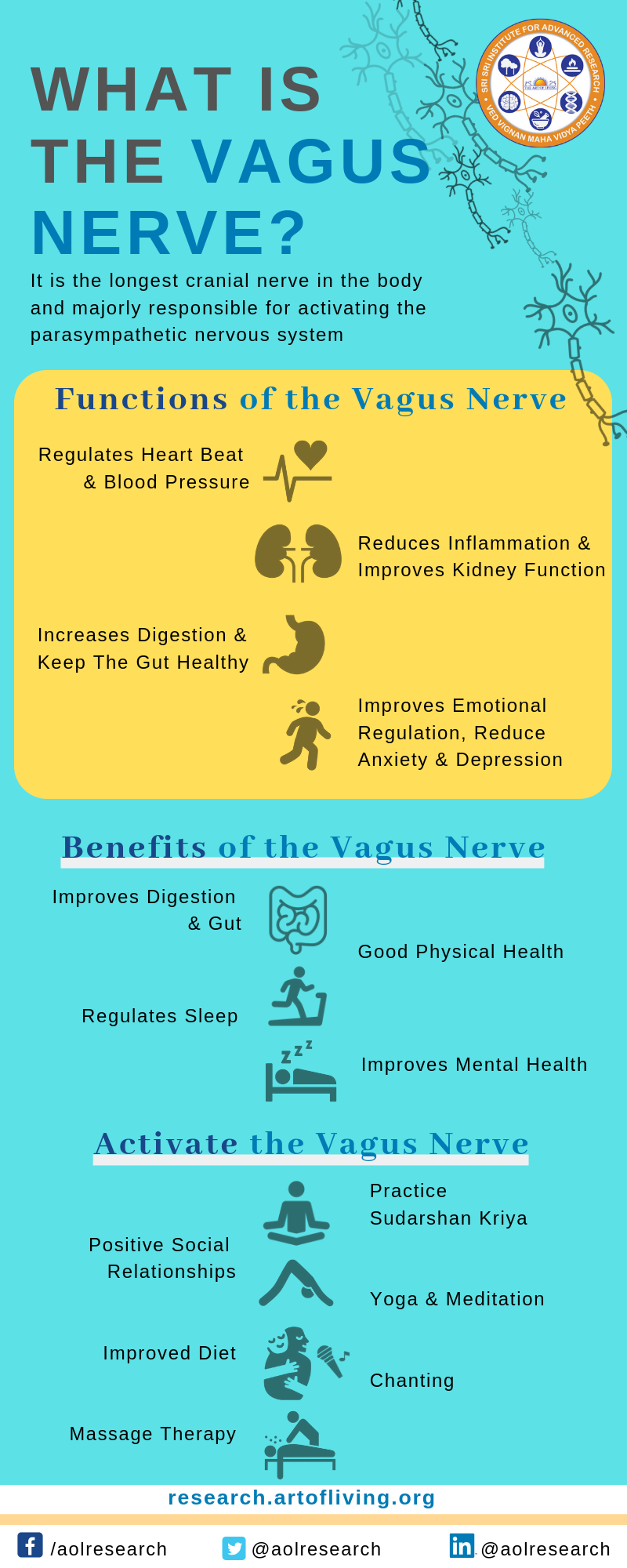 The Art of Living Research -  Vagus Nerve
