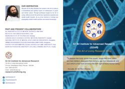 Sri Sri Institute for Advanced Research Brochure 1