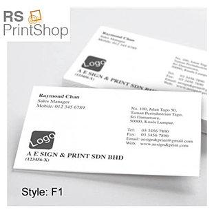 Business name card design printing penang rs print shop name card design penang 1 reheart Choice Image