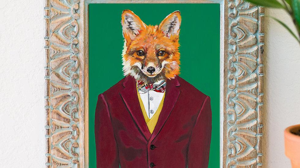 Sir Fox art print