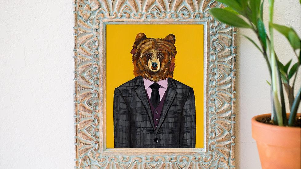 Sir George the bear