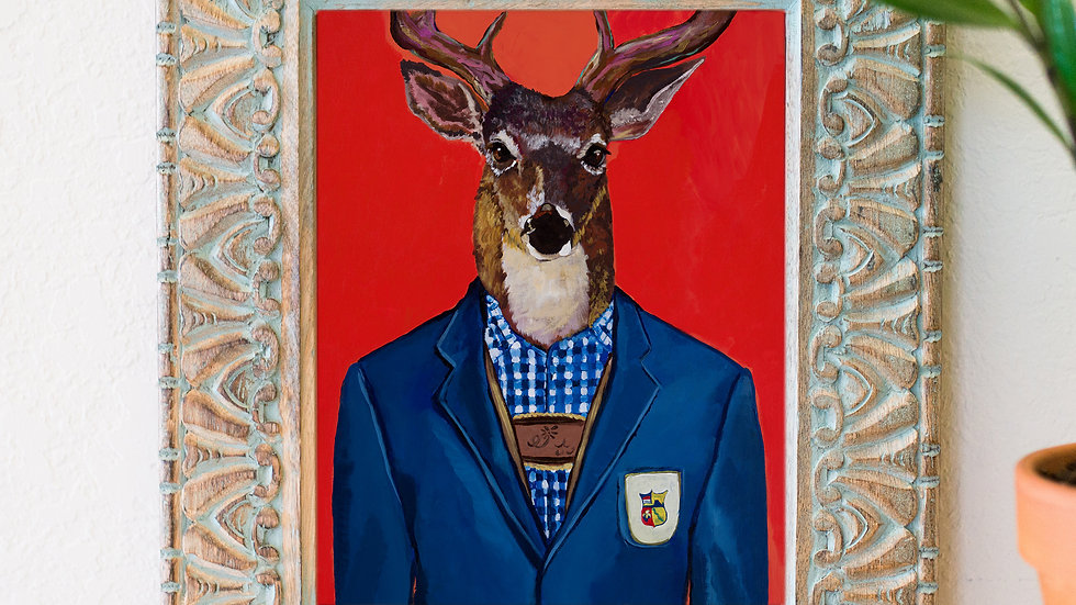 Sir buck fine art print