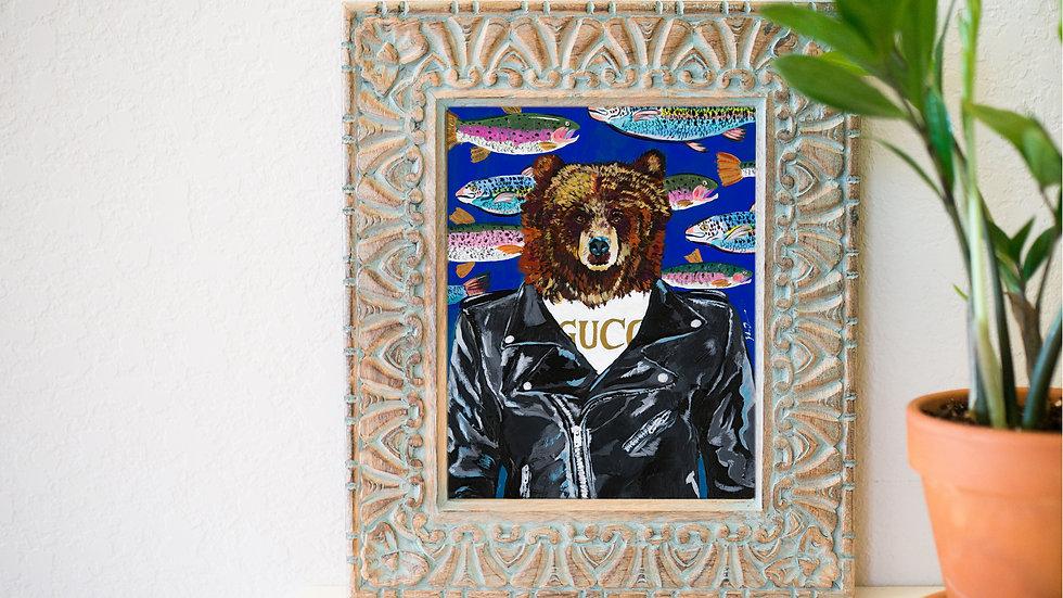 Gucci Bear Fine art print