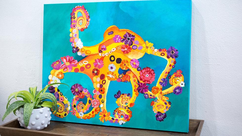 Octoflora painting