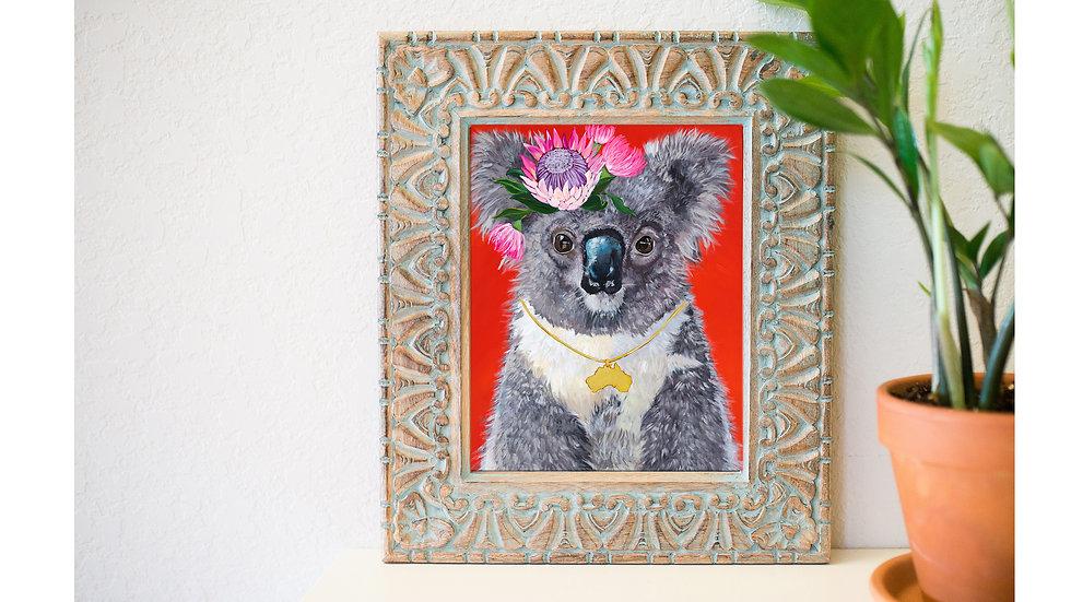 Pretty Koala fine art print