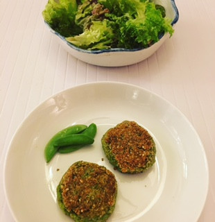 Pea burgers... You saw them here first, folks!