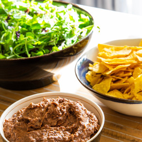 Recipe: Black-bean and Sundried Tomato Hummus