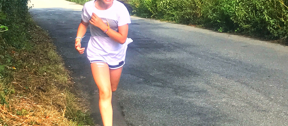 Running with a 12-year-old...