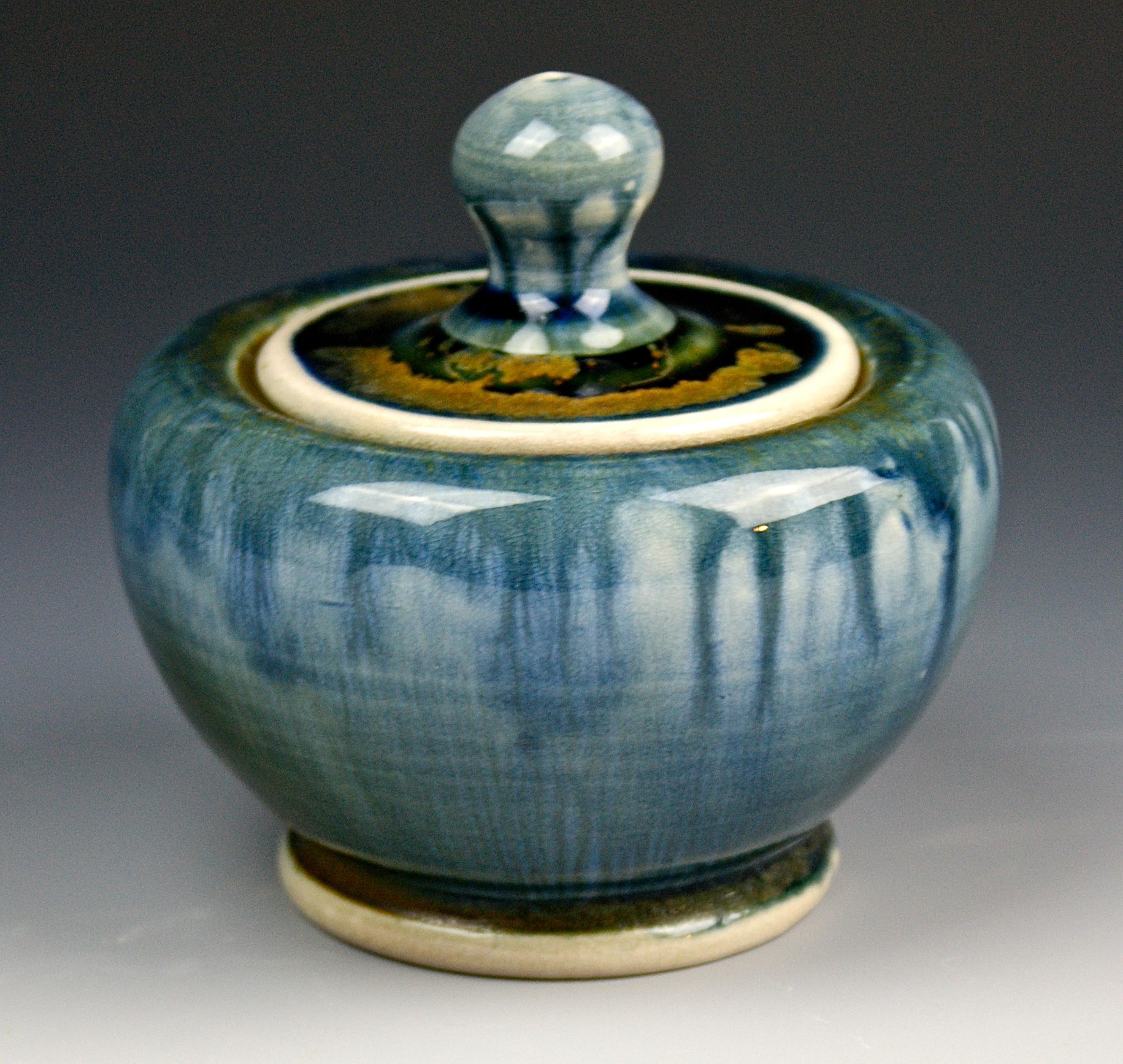 Lidded Jar  4x4x4