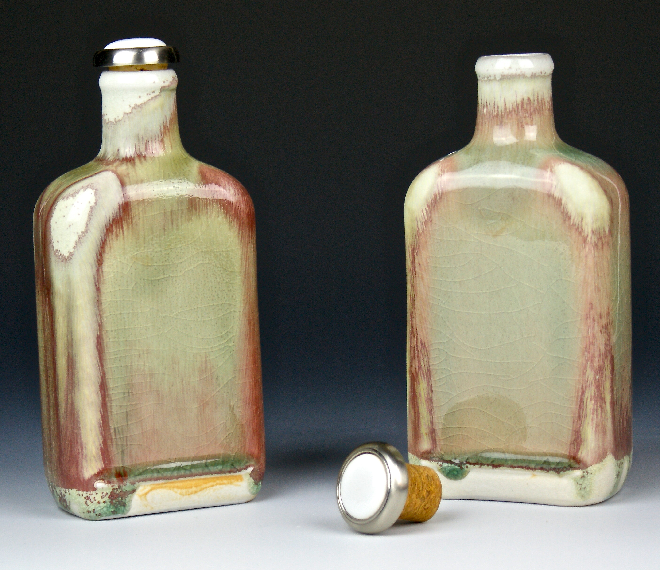 Whiskey-a-go-go Flasks