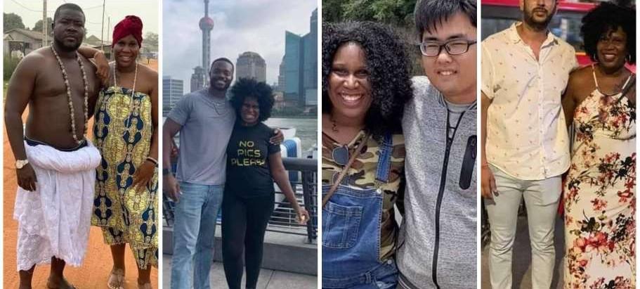 Woman boldly shares photos of 20 men she has sl3pt with globally on social media.[Photos]