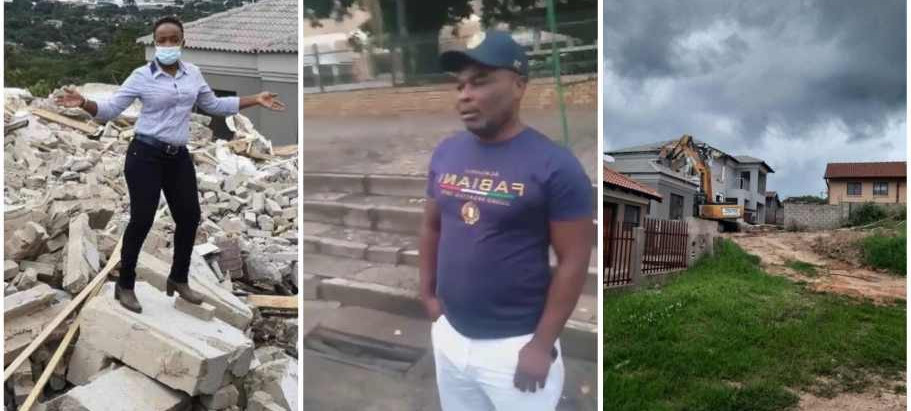A Man who demolish3d girlfriend's house finally share  his side of the story [WATCH VIDEO]