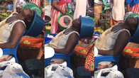 Netizen shares video of a hustling mother as the reason why you should always send her money instead