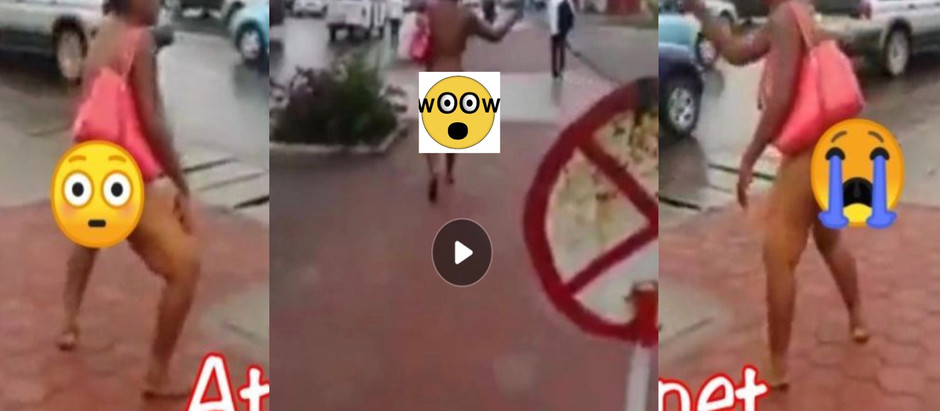 Video of a university student runs m@d after lodging with man in a h0tel [Watch Video]